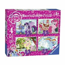 4 in 1 Puzzle Box   My Little Pony   Ravensburger   Kinder Puzzle