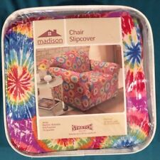 "Madison Jersey Stretch To Fit Slipcover Tye Dye Fits Chair 32"" to 43"" Wide"