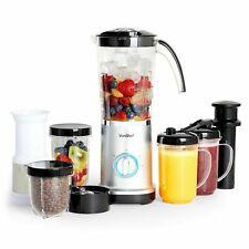 VonShef Blender 4 in 1 Smoothie Maker Food Fruit Juicer Coffee Grinder 1L Jug
