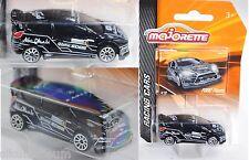 Majorette 212084009 Ford Fiesta RS WRC, schwarz, Abu Dhabi 4, 1:58 (Racing Cars)