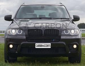 BMW X5 X6 E70 E71 Gloss Black Grill Grille Double Slat 2007-2013