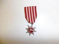 z75 RVN Vietnam Special Service Medal original Vietnamese made Red WC3