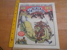2000 Ad 1986 Judge Dredd #455 comic British magazine Omar