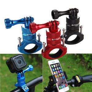 Aluminum Cycling Holder Bracket for GoPro Cameras Phones Adaptor Base for Bike