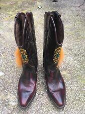 Kentucky Western Vintage Ladies Cowboy Boots Size 8 /41