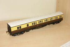 O gauge 7mm FINESCALE Suburban B coach GWR Brown Cream Livery '6535'