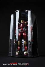 1/6 Toys Box Collectible TM021 Iron Man Led Light Up Clear Hall Of Armor 3.0