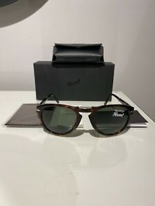 Persol 714 Folding Sunglasses STEVE MCQUEEN with Leather Case