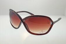 Baby Phat Shiny Brown Tort Oversized Sunglasses Brown Gradient Lens 2030
