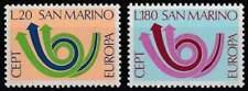 San Marino postfris 1973 MNH 1029-1030 - Europa / Cept
