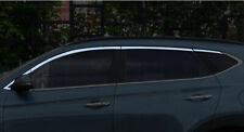 For HYUNDAI TUCSON IX35 2016 - 2019 S- Steel Upper WINDOW Molding chrome Trim