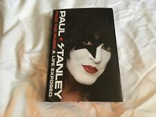 KISS Paul Stanley Face The Music, A Life Exposed Book Signed Paul Stanley