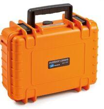 B&W Case Type 1000 SI orange mit Schaumstoffeinsatz Outdoor Fotokoffer von B&W