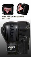 BLACK BOXING GLOVES MUAY THAI SPARRING GLOVE MMA TITLE TRAINING MMA KICKBOXING
