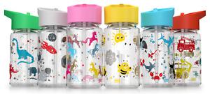 Kids Childrens Drinking Water Bottle unicorns sea space animals milk BPA Free