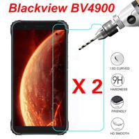 2PCS For BLACKVIEW BV4900 BV 4900 Tempered Glass Film Screen Protector