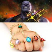 US! 2018 Avengers: Infinity War Thanos Infinity Bracelet Ring Women Cosplay Prop