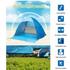 Pop Up Beach Tent Sun Shade Shelter Outdoor Camping Fishing Canopy 2~3 People