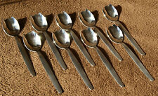 9 cuillères à huitres acier inoxydable Belinox
