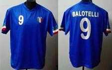 MONDO REPLICA ITALIA NAZIONALE ITALIANA MAGLIA M. BALOTELLI 9 MONDIALI TG. XL
