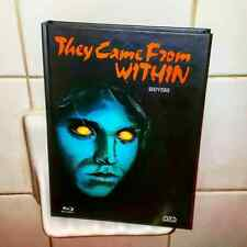 Shivers/They Came From Within (Lim. Ed. REGION B Mediabook Blu-ray #28/222)