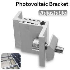 Solar Panel Mounting Bracket End Clamp Adjustable For 35mm--55mm Framed