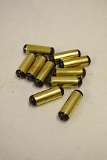 Beads 10 Vintage Black Brass Horn Bullet Beads Indonesia