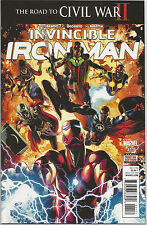 Invincible Iron Man # 11 * Civil War Ii * Near Mint