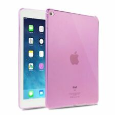 """For New Apple iPad 9.7"""" 2018/2017 Transparent Clear TPU Silicone Case Back Cover"""
