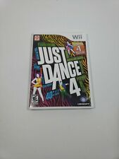 Just Dance 4 (Nintendo Wii, 2012) Complete With Manual
