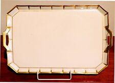 Tablett Greque, Fürstenberg, Ausführung in Gold,  Marke: 1917- 45
