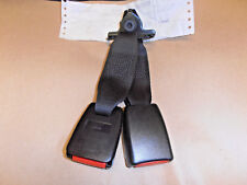 Rover 200 / 25 MG ZR GENUINE Centre Rear Twin Seat Belt Stalks Buckles 1995-2006