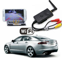 Wifi Car Backup Front View Camera Realtime Video Transmitter iPhone Android 903W