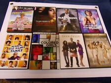 TYLER PERRY DVD LOT OF 8 FILMS  LOT# 207
