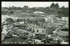 RPPC Busy Day in CAPITOLA by the Sea SANTA CRUZ County CALIFORNIA c.1940