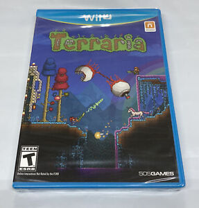 Terraria Nintendo Wii U *Brand New! *Factory Sealed!