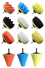 14 PCS Polishing Kit Buffing Pad 1/3''/6mm Wheel Polishing Cone Car Body Wheels