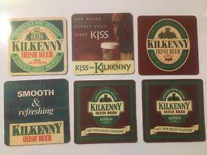 6 x Kilkenny Beer Mats (4) (11.1)