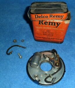 1949-1952 Packard Buick Cadillac Olds points breaker plate Delco Remy 1917253