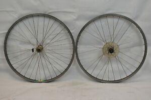 "Araya RM-20/17 26"" MTB Wheelset OLW100/135 20/17mm 36S Deore DX Freehub Charity!"
