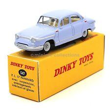 Atlas Dinky Toys 547 Panhard PL17 bleue