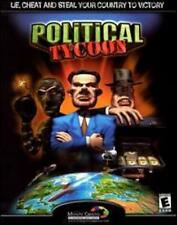 Political Tycoon w/ Manual PC CD world leader overpower rival countries sim game