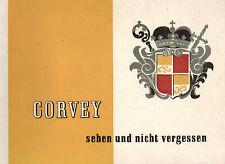 Corvey sehen und nicht vergessen, Führer Vergangenheit + Gegenwart, Höxter, 1958