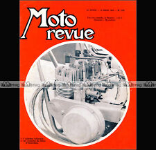 MOTO REVUE N°1780 MÜNCH 1000 MAMMUT SALON d'AMSTERDAM LILAC 500 BMW R50 1966