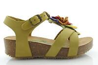p13 BioNatura scarpe shoes bambina sandali con la zeppa ROSI