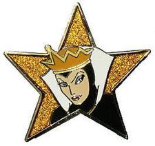 Evil Queen Snow White Glitter Star Mint Le 1000 Disney Pin on Original Card