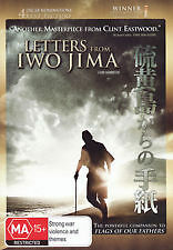 LETTERS FROM IWO JIMA - BRAND NEW & SEALED R4 DVD (CLINT EASTWOOD FILM) 2006