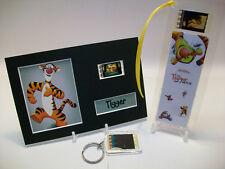 Tigger Winnie Pooh 3 Piece Movie Film Cell Memorabilia Collection Gift Set Lot