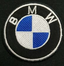 BMW Embroidered logo racing biker car iron on patch badge motor sports 7.5CM Dia