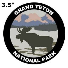 Grand Teton National Park Auto Truck Vinyl Decal Souvenir Travel Explore Nature